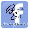 BlogitEdit.com Facebook Signature Logo