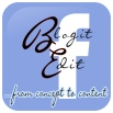 BlogitEdit.com Facebook Signature Logo