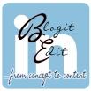 BlogitEdit.com LinkedIn Signature Logo