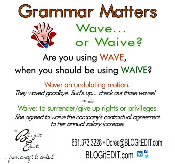 BlogitEdit.com square meme Wave vs. Waive
